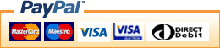 More Print accept payment via PayPal, MasterCard, VISA & Direct Debit.